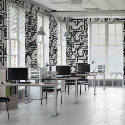 کاغذ دیواری مناسب محیط کار