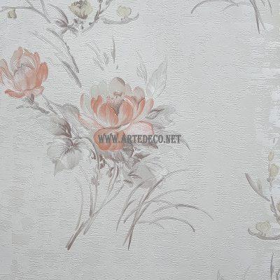 کاغذ دیواری کینگ کد 60 - کاغذ دیواری گلدار