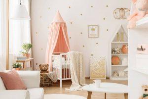 کاغذ دیواری اتاق نوزاد