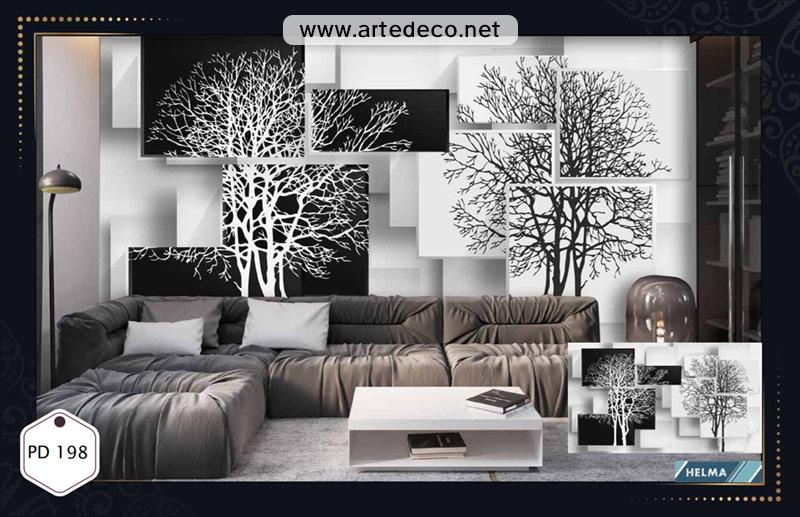 آلبوم پوستر دیواری هلما 2 طرح سه بعدی