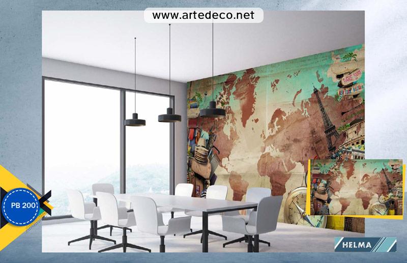پوستر دیواری اماکن دیدنی برای آزانس مسافرتی