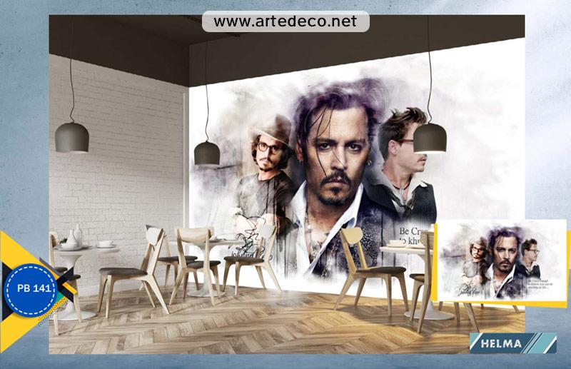 پوستر دیواری سینمایی جانی دپ