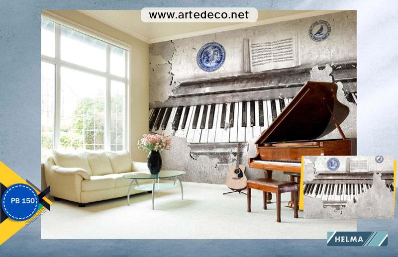 پوستر دیواری طرح موسیقی
