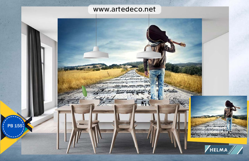 پوستر دیواری برای کافه، رستوران، سالن زیبایی، مزون، باشگاه