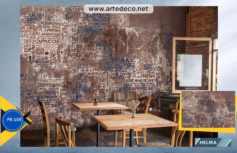 پوستر دیواری برای کافه