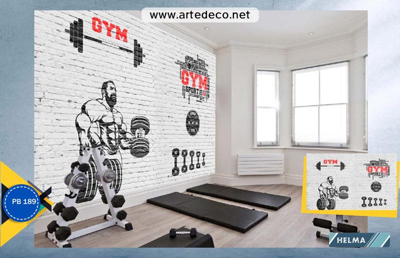 پوستر دیواری ورزشی برای باشگاه