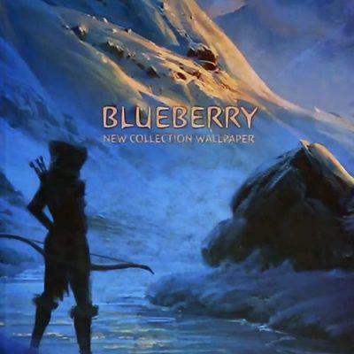 آلبوم کاغذ دیواری بلوبری Blueberry