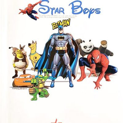 آلبوم کاغذ دیواری استار بویز Star Boys